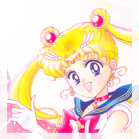 sailor moon from the sailor moon manga