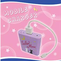 sailor moon cellphone charger