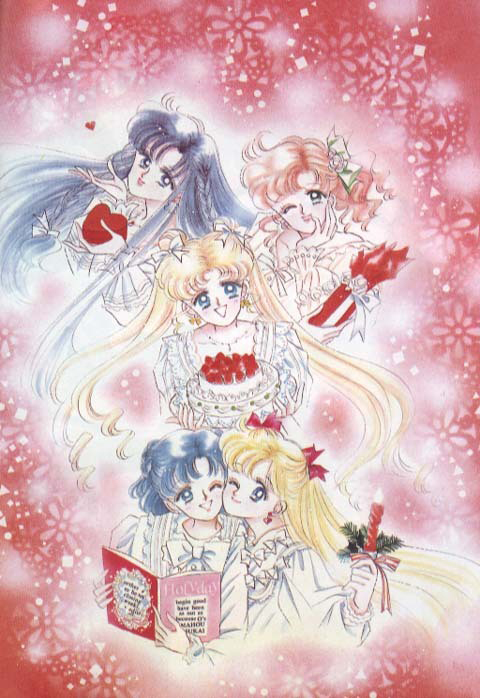 Here is all of the Christmas Sailor Moon images I could find on the ...