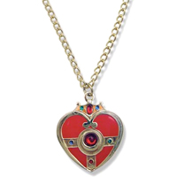 sailor moon cosmic heart compact necklace