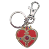 sailor moon cosmic heart compact keychain