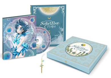sailor moon crystal blu-ray set volume 2 featuring sailor mercury
