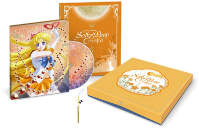 sailor moon crystal blu-ray set volume 5 featuring sailor venus