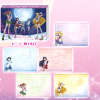 sailor moon crystal group memo pad