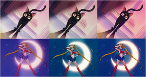 sailor moon dvd image quality comparison