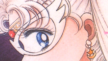 sailor moon's first tiara from the sailor moon manga