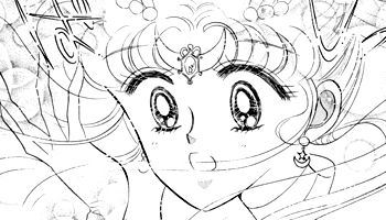 sailor moon's third tiara from the sailor moon manga