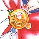 sailor moon's first transformation brooch from the sailor moon manga