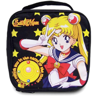 sailor moon group black tote bag