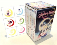 sailor moon manga box set volumes 1 to 6