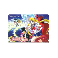 sailor moon memo pad