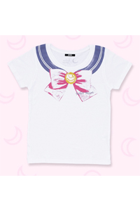 new japanese sailor moon mens bow t-shirt