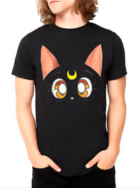 sailor moon luna mens t-shirt