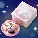 sailor moon miracle romance shining moon powder crystal star brooch compact