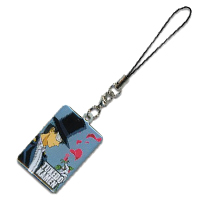 sailor moon tuxedo kamen / mask mobile / cellphone strap