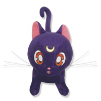 sailor moon luna plushie stuffed toy