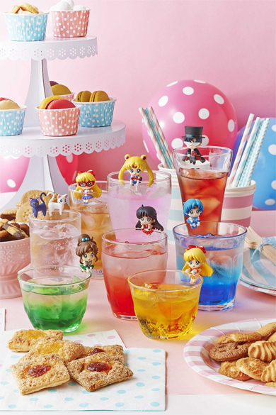 sailor moon prism cafe figures