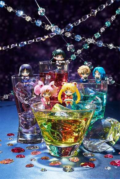 sailor moon cosmic heart cafe figures