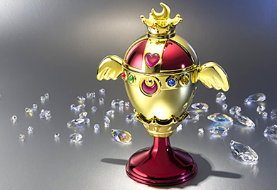 sailor moon tamashii nations rainbow moon chalice / holy grail proplica