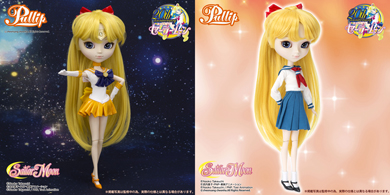sailor venus pullip doll