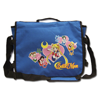 sailor moon group messenger bag