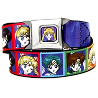 sailor moon belt that looks like a seatbelt!