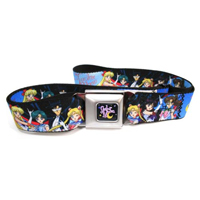 sailor moon seatbelt belt with tuxedo mask