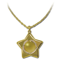 sailor moon star locket / usagi carillion necklace