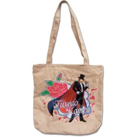 sailor moon tuxedo mask / kamen tote bag