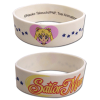 sailor moon white wristband