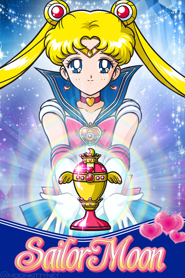 Sailor Moon And Holy Grail Mobile Phone Cellphone IPhone Wallpaper