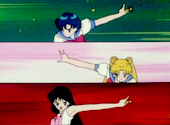Sailor Moon, Mercury and Mars Transform in 'An Animated Mess'