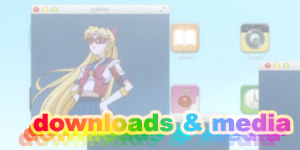 sailor moon podcasts, wallpapers, icons and avatars, downloads and media