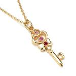 premium bandai sailor moon chibi use / rini space time key necklace