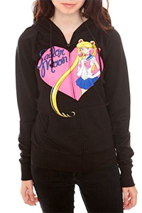 sailor moon hoodie featuring sailor moon from hot topic