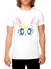 official mens sailor moon t-shirt with artemis!
