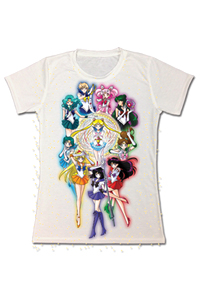 new sailor moon s group t-shirt