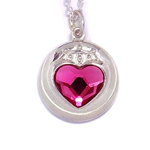 premium bandai sailor moon s sailor mini moon / chibi moon prism heart compact (silver)