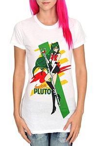 new sailor moon t-shirt featuring sailor pluto from hot topic