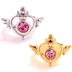 bandai sailor moon supers brooch design rings