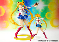 bandai tamashii nations figuarts zero sailor moon figure / model