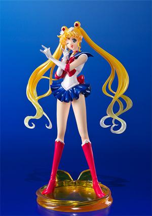 New Bandai Figuarts ZERO Sailor Moon Sailor Mercury Crystal Ver Figure Model