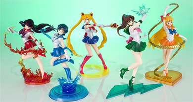 tamashii nations sailor moon zero figures